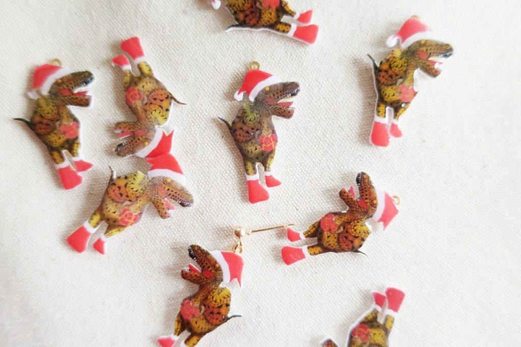 クリスマス恐竜 いろいろ