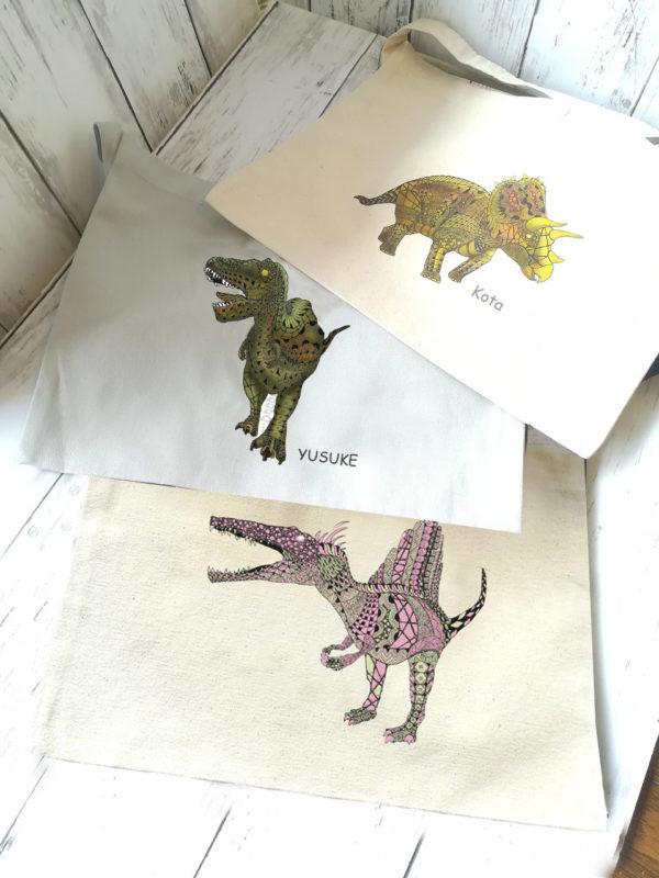 恐竜バッグ サコッシュ