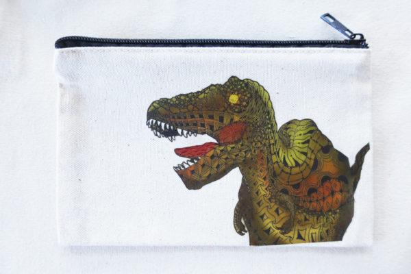 ティラノサウルス恐竜ポーチ