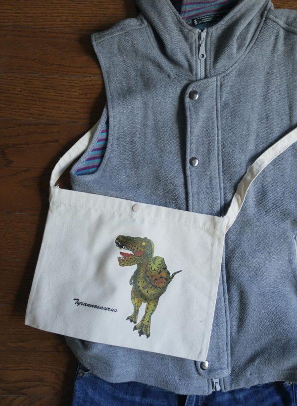 恐竜バッグ