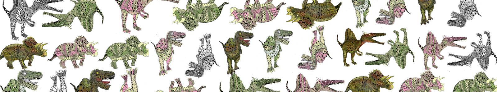 恐竜デザイン タモコタモ