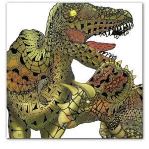 恐竜シールとステッカー
