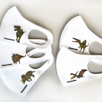 恐竜マスク5点セット