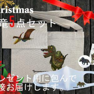 恐竜クリスマスプレゼントセット