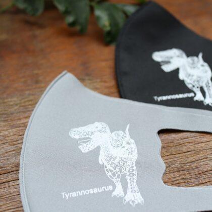【キッズ】恐竜デザインマスク ティラノサウルス